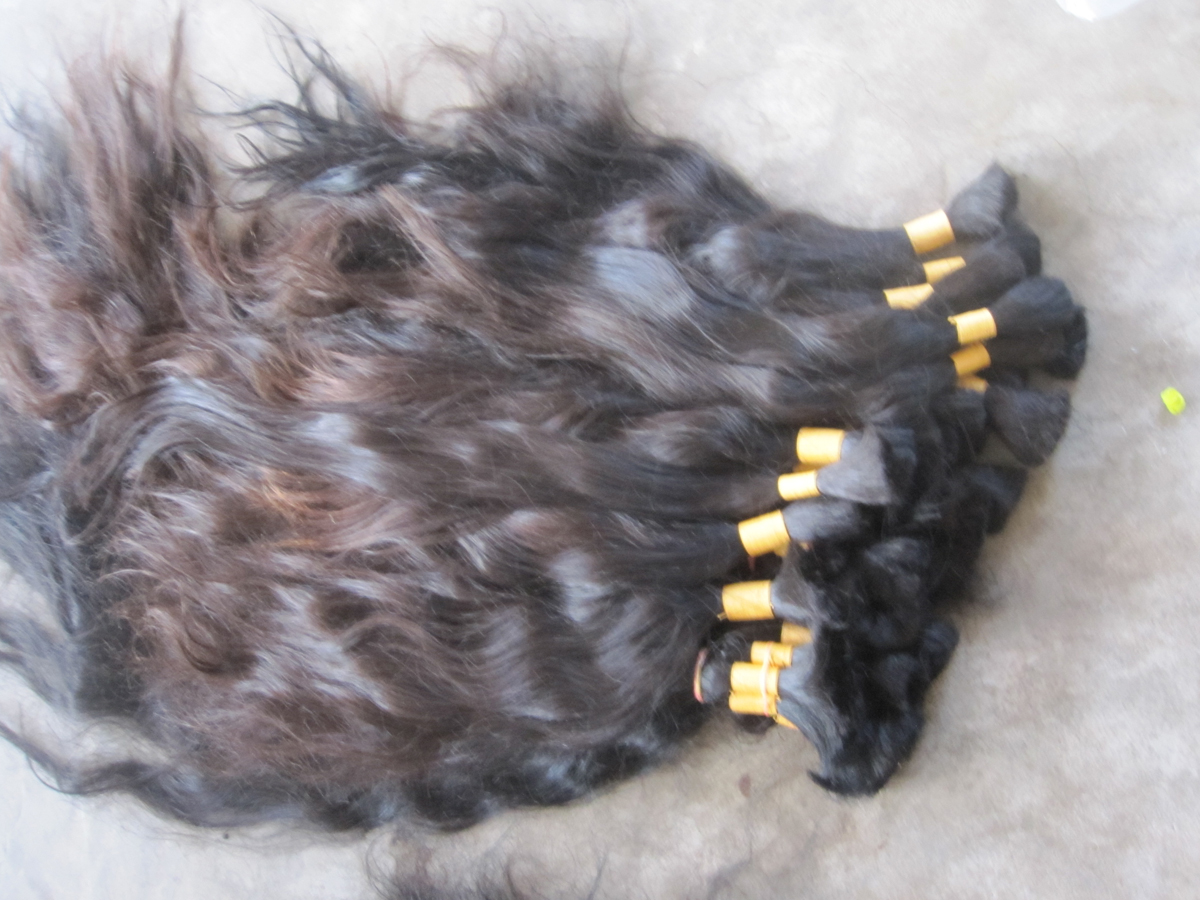 Raw wholesale Indian Hair bulk